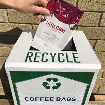 Recycle Littlestone Coffee bags